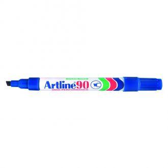 Artline 90 Μαρκαδόρος ανεξίτηλος 2-5mm Μπλέ (EK-90)