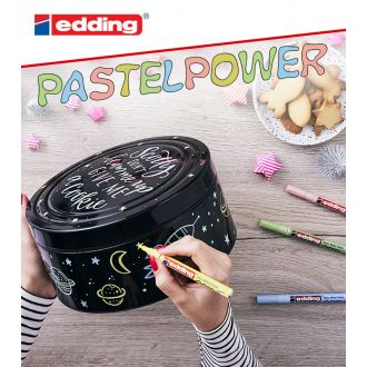 edding 751 μαρκαδόρος ανεξίτηλος 1.0mm Pastel Πράσινο