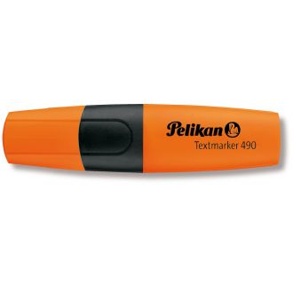 Pelikan Textmarker 490 Μαρκαδόρος υπογραμμίσεως  1-5mm Πορτοκαλί (940407)