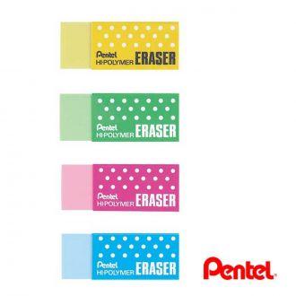 Pentel Γόμα Πλαστική χρωματιστή ZEH-05-CM