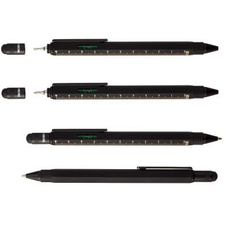 Troika Construction Pen Super Black  PIP20/SB