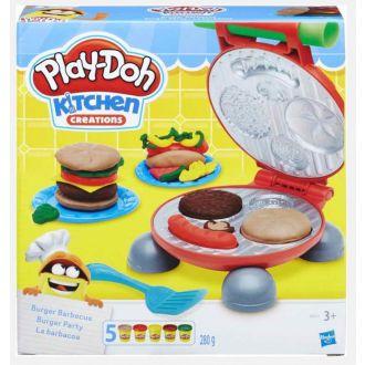 HASBRO playdoh burger set