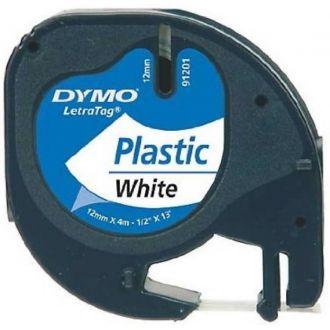 Dymo 91201 Ταινία Ετικετογράφου (4m x 12mm) S0721610 S0721560 Λευκό