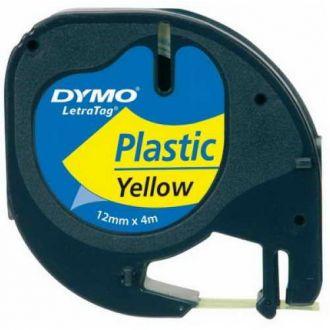 Dymo 91202 Ταινία Ετικετογράφου (4m x 12mm) S0721620 Κίτρινο