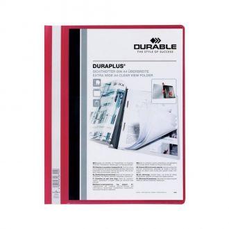 Durable Ντοσιέ έλασμα Plus Α4 N.2579 Κόκκινο
