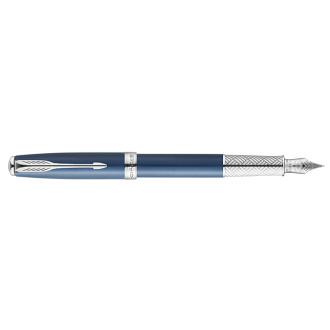 Parker Πένα Sonnet Secret Blue Shell Fountain Pen (1108.3501)