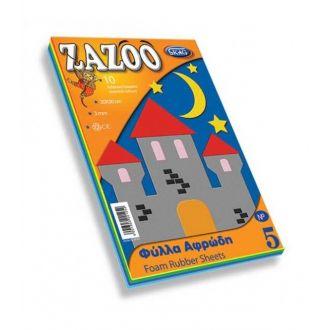 Skag Μπλόκ Zazoo No5 Φύλλα Αφρώδη 20x30 10Φ 221252