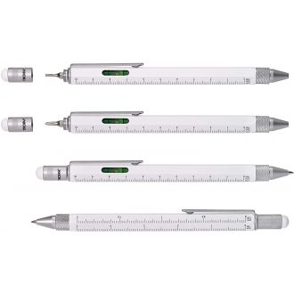 Troika Construction Pen White PIP20/WH