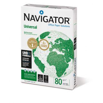 Navigator Universal Χαρτί Εκτύπωσης Α4 80gr 500 Φύλλων Λευκό