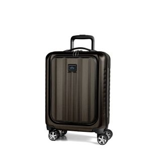 March Βαλίτσα ταξιδίου Fly Cabin Trolley Black Brushed (M104-27-52)