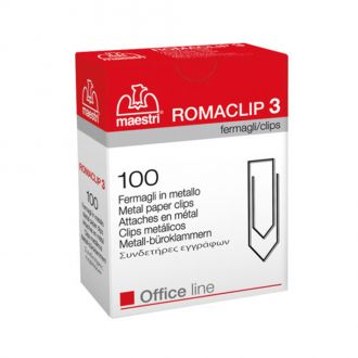Romaclip Συνδετήρες No3 100τμχ