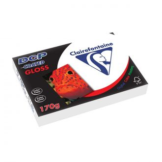 Clairefontaine DCP Χαρτί εκτύπωσης A4 170gr 250 Φύλλων Gloss Coated Λευκό (6851)