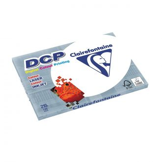 Clairefontaine DCP Χαρτί εκτύπωσης A3 210gr 125 Φύλλων Λευκό (1856)