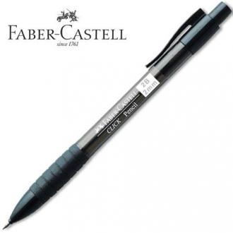 Faber Castell μηχανικό μολύβι Click 2mm Μαύρο 132899