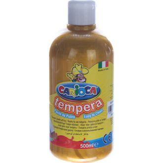 Carioca τέμπερα μπουκάλι 500ml Χρυσό (19)