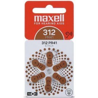 Maxell μπαταρία ακουστικών βαρυκοΐας 312 PR41ZA13