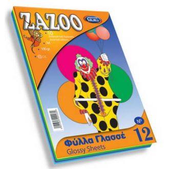 Skag Μπλόκ Zazoo No12 Φύλλα Γλασσέ 10Φ 224482